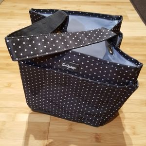 Thirty one Creative Caddy - CityCharcoal Swiss Dot